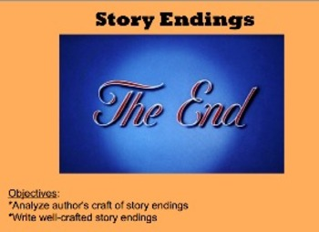 Writing Story Endings: For Narrative or Speculative Writing
