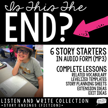 Narrative Writing (Audio Story Starters)