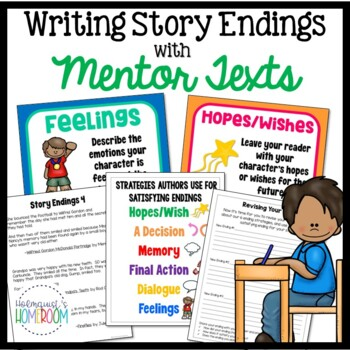 Writing Story Endings using Mentor Texts