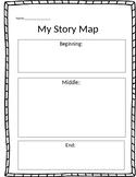 Writing Story Map