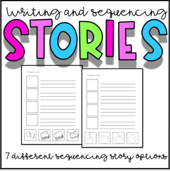 Writing Story Sequencing