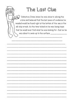 Writing Story Starters