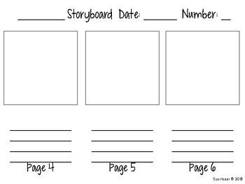 Writing Storyboard