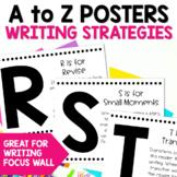 Writing Strategies Alphabet Posters