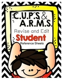 Writing Strategies: CUPS and ARMS