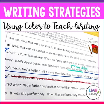 Writing Strategies-Using Color Coding