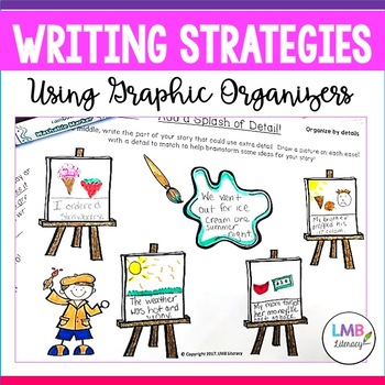 Writing Strategies-Organizing Your Writing-Fun Graphic Organizers!