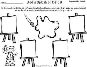 Writing Strategies: Graphic Organizers for Writing a Story, Creative Writing