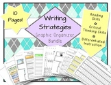 Writing Graphic Organizers ELA Bundle - Strategies & Skills