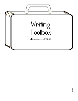 Writing Strategies and Tools for Students to Place in Writing Journal