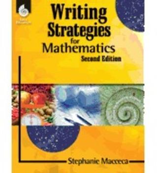 Writing Strategies for Mathematics, 2nd Edition