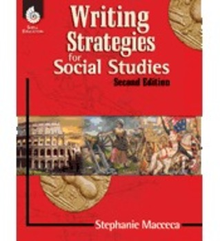 Writing Strategies for Social Studies, 2nd Edition