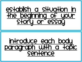 Writing Strategies for the Six Traits of Writing