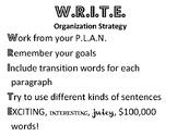 Writing Strategy Acronyms (Horizontal)