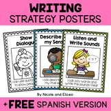 Writing Anchor Charts - Beginner Writer Strategies