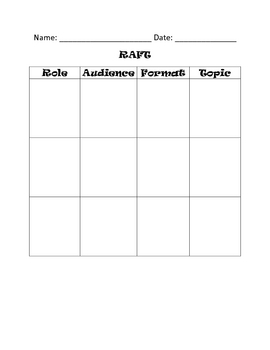 Writing Strategy Templates for Non-fiction Writing