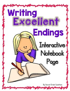Writing Strong Conclusion Sentences: An Interactive Notebook Page