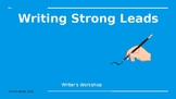 Writing Strong Leads 1st-3rd Grade