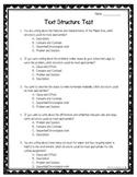 Text Structure Quiz