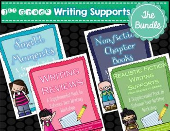 Writing Supports THE BUNDLE Anchor Charts and More