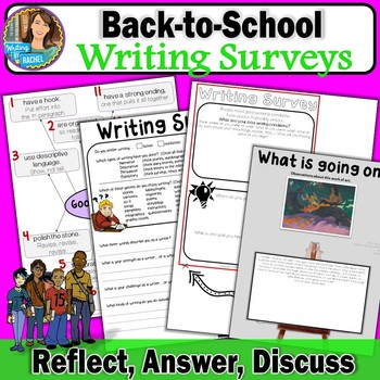 Writing Surveys and Samples for Back-to-School
