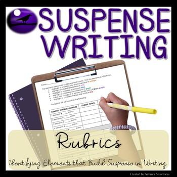 Writing Suspense Stories Rubric