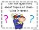 Writing TEKS Posters for Kindergarten-Editable