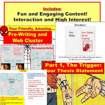 Cluster and Writing PowerPoint: THE 5-PARAGRAPH ESSAY Planning