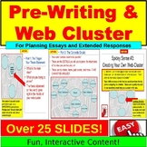 Web Cluster and Prewriting PowerPoint: THE 5-PARAGRAPH ESSAY Planning