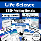 Science Writing Prompts Bundle - Life Science and Biology