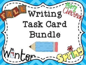 Writing Task Card Bundle