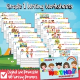 Printable and Digital Grade 1 Writing Worksheets-Sample Copy