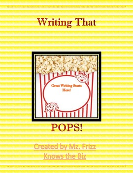 Super Writers Task Cards for 4th Grade