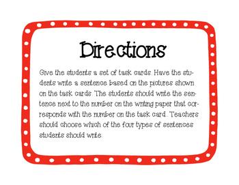 Writing Task Cards