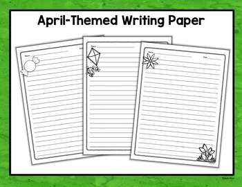 April Writing Prompts and Activities