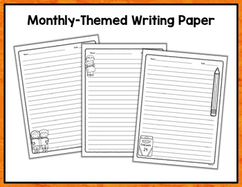 Writing Prompts Task Card Bundle for the Year