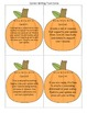 Writing Task Cards CC Aligned {3rd, 4th & 5th Grade} Pumpk