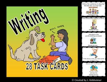 Writing Task Cards (Centers)