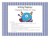 Writing Task Cards: Changing Point of View
