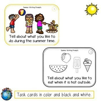 Writing Task Cards & Graphic Organizers Bundle