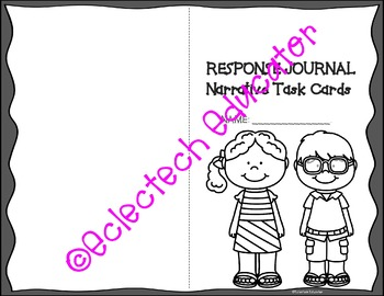 Writing Task Cards - Personal Narratives