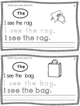 Handwriting Practice (Kindergarten and 1st Grade)