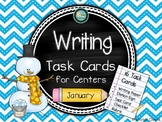 Writing Task Cards for Centers: January