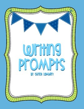 Writing Task Cards with Prompts