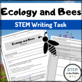 Writing Task - Ecology and Bees (Life Science, LS2.A, LS2.C)