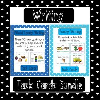 Writing Task Card Growing Bundle
