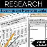 Writing Task - Bioethics (Biology + Life Science, LS1.B)