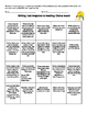 Writing Task response to reading choice board: Daily 5