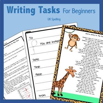 Writing Activities for Beginners AUS UK