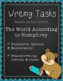 Writing Tasks for The World According to Humphrey